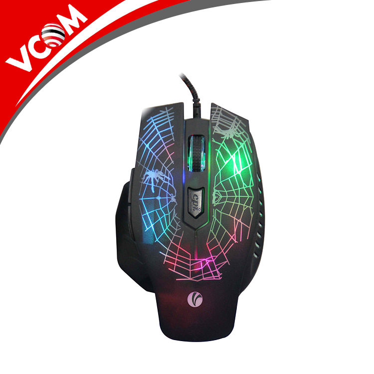 74cf3d91da5 VCOM Professional Wired Gaming Mouse Popular LED Optical USB Wired Computer Mouse  Cable Mouse