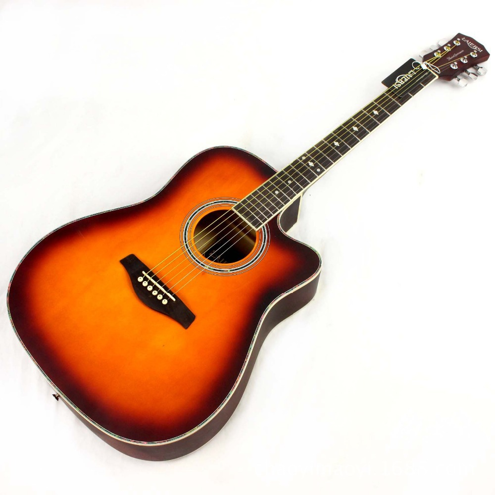 new guitars 41 inch high quality acoustic guitar rosewood fingerboard guitarra with guitar. Black Bedroom Furniture Sets. Home Design Ideas