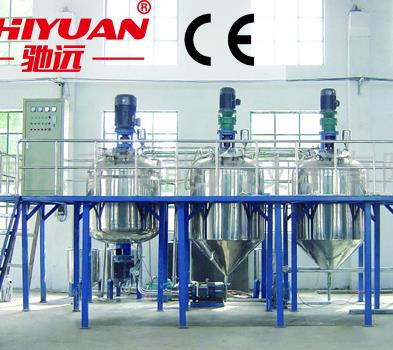 Paint manufacturing equipment/complete paint production line