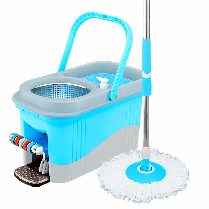 Four devices cleaning mop 360 easy mop spin mop