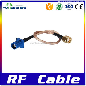 [High quality]Rf jumper cable gps/gsm car antennas adapter