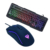 Custom Led illuminated Usb Wired Gaming Keyboard Mouse Combo