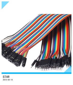 Enjoyable 30Cm Dupont Colorful Idc Wire Connector Color Jumper Cable 2 54Mm I Wiring Cloud Brecesaoduqqnet