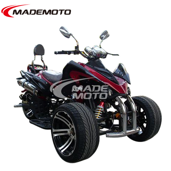 250cc gas ATV 3 wheels quad bike EEC approved high speed and far range