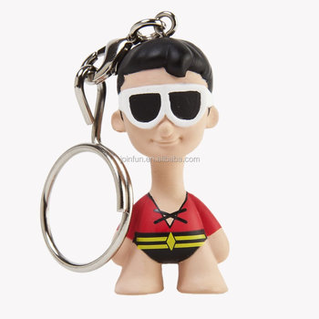 custom make pvc keychain toys,custom design 3d pvc keychain figures,make custom character 3d pvc keychain