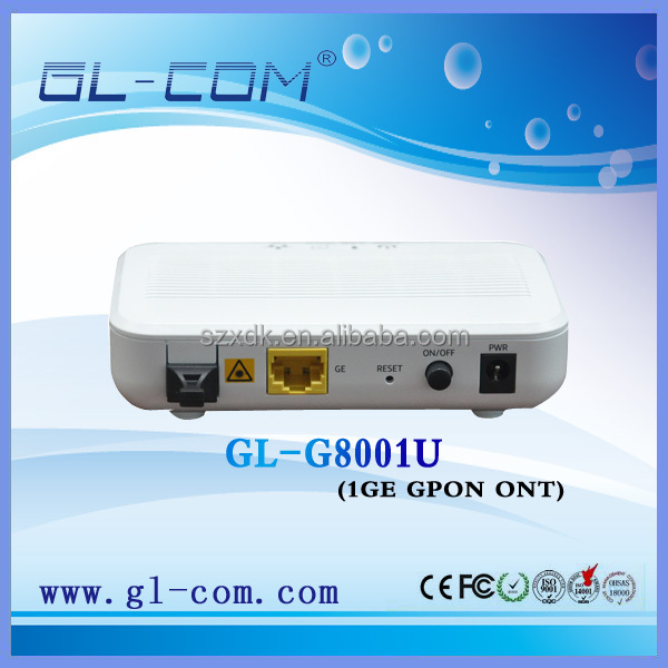 GPON ONT 1GE ONT P2P P2MP Solution FTTH GPON ONT Solution indoor wireless access point