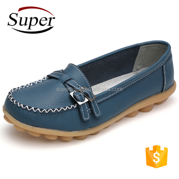 Cheap Loafer Leather Girl Shoes Made In