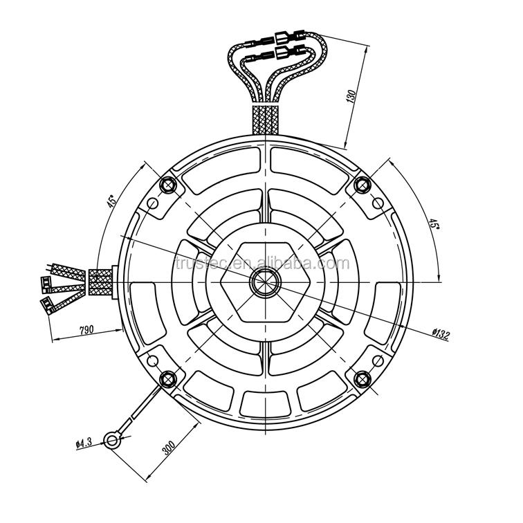 Aie Conditional 3 Speed Fair Price Ac Psc Condenser Fan Motors