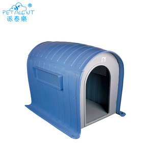 Weatherproof plastic cheap outdoor dog pet kennels house