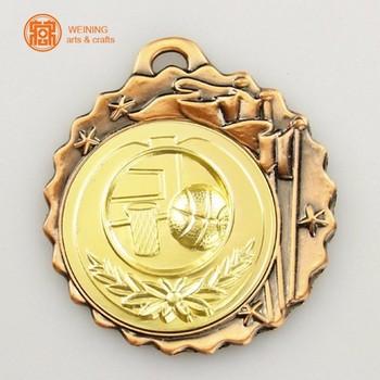 562628d3f4bd Personalizado 3D diseño metal Premio medallas antiguo bronce cobre oro plata
