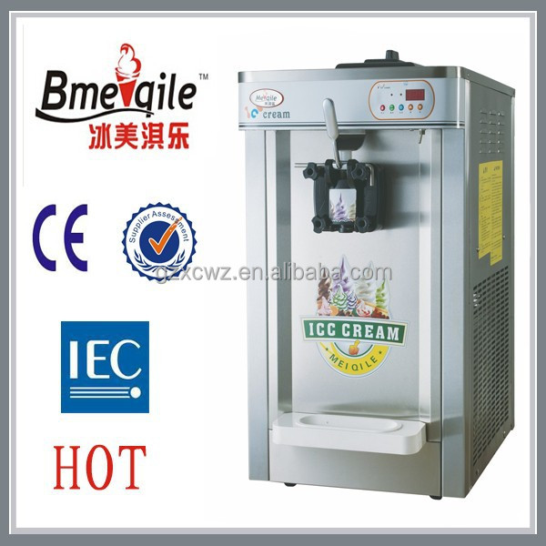 16L full stainless steel soft serve single favor ice cream machine