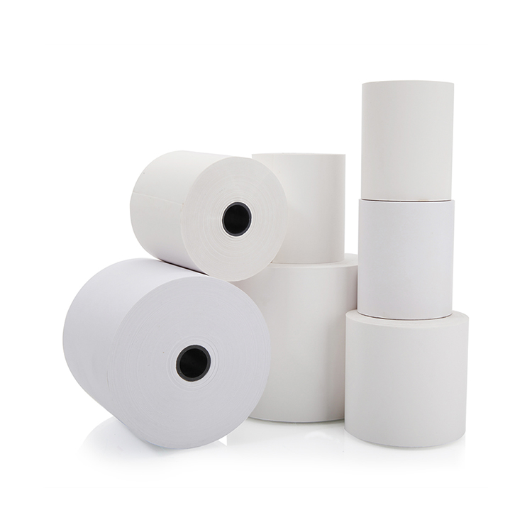 "2 1/4"" 3 1/8"" Thermal Rolls Thermal Paper For Credit Card Machine"