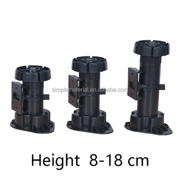 Adjustable Plastic Legs For Kitchen Furniture Legs - Buy Plastic Adjustable  Cabinet Leg,Adjustable Plastic Legs,Kitchen Cabinets Adjustable Legs ...