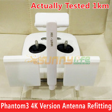 DJI Phantom 3 4K Version WIFI Transmission Antenna Refitting Signal Booster Extended Long Range Antenna Modification