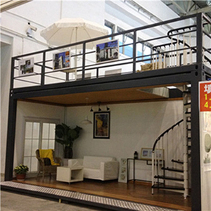 Steel structure prefab container homes and coffee shop container for sales