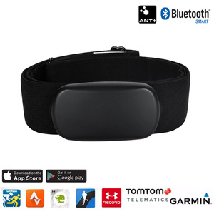 Bluetooth 4.0 Ant+ Heart Rate Sensor Monitor Chest Strap Belt Ant+ GPS Sports Watch Smartphone BLE Heart Rate Band Pulse Meter