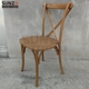 Boutique Old Event Wooden Cross back Chair