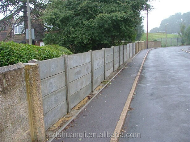 Precast Prestressing Cemeng Concrete Fence Moulds Forms By