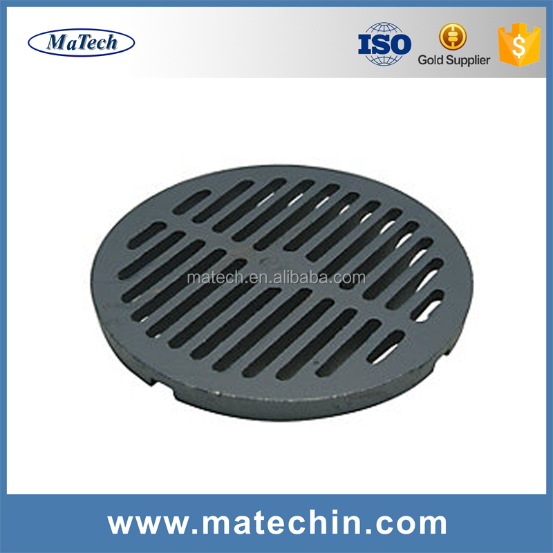 Foundry Customized Precision Round Cast Iron Grate Drain