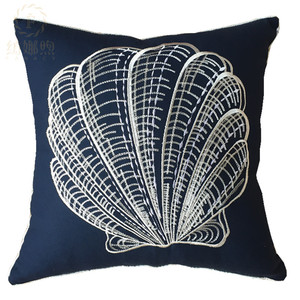 100% cotton decorative pillow cover embroidery cushion cover for sofa chair car