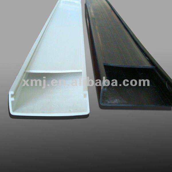 environment-friendly custom pvc u profile ,plastic rain gutters