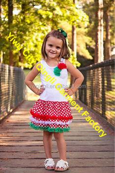 d7ae1c3bd955 Toddler Girl Christmas Dress Girls Holiday Dress Girls Christmas Outfit  Kids Polka Dot Dress with Chiffon