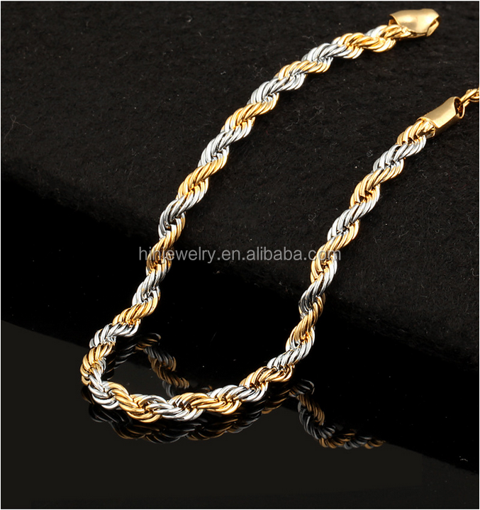 Gold Rope Chain Png
