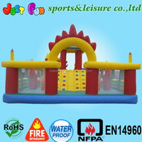 commercial inflatable fun city,beautful inflatable fun land