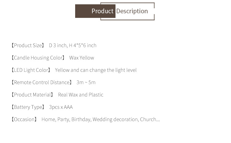 High quality fragrance paraffin electric paraffin wax wedding birthday candle with dry leaf