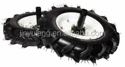agriculture tiller wheel and axle
