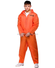 Mens Orange Rantai Geng <span class=keywords><strong>Penjara</strong></span> Narapidana Boiler Suit <span class=keywords><strong>Jumpsuit</strong></span> Fancy Dress Costume SA810