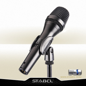 Factory Price Cardioid Microphone Dynamic Unidirectional Wired Handheld Professional Karaoke Microphone