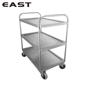 Commercial Food Service Hotel Bar Cart/Hotel Hand Trolley