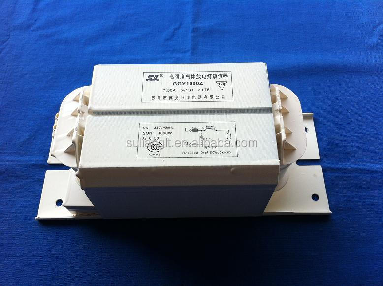 Factory Price Hid 1000w Magnetic Ballast For High Pressure Mercury ...
