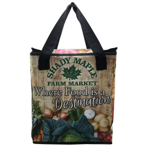 Laminated pp woven reusable insulated grocery bags