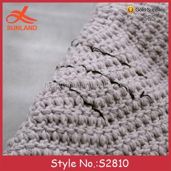 S2810 Nuevo Estilo Crochet Alfombra Ganchillo Piso Alfombra Redonda ...