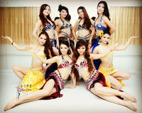 High quality Belly dance costumes set slim hip skirt dance set belly dance performance costume set