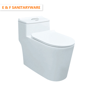 nepal market best siphonic flush toilet for flushing power modern design two holes Dual flushing siphonic one piece toilet bowl