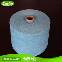 Cnlucky factory recycled oe towel yarn for knitting