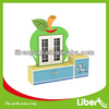 Hotsale Kids Furniture Tea cup Rack, Children wooden cabinet in cartoon fruit shape LE.SJ.092