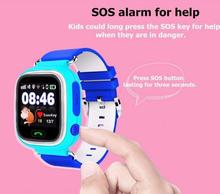 Baby Smart Watch Q90 Kids GPS Watch GPS+LBS+WIFI Children GPS Tracking Locator for IOS