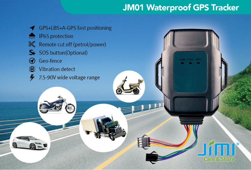 good than Concox' GPS monitor your fleet 7.5-90V wide voltage range