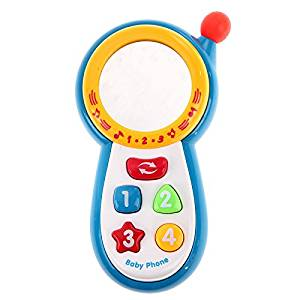 Puraid(TM) New Baby Kids Learning Study Musical Sound Cell Phone Children Educational Toys Phones FCI#