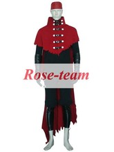 Fantasia Anime Lolita-Top Quality Final Fantasy VII 7 Vincent Valentine Game Cosplay Costume Halloween Costumes C0685
