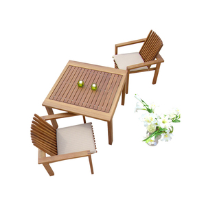 Outdoor Teak Patio Garden Furniture Table and Chair set