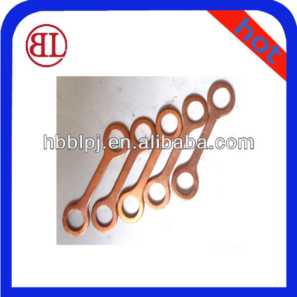 Metal Return-Pipe Gaskets Corrugated Copper Pad Washer