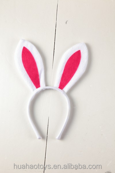 Hot Sale New Design Simple Fashion Children Party Makeup Personalized Rabbit Ear Headband