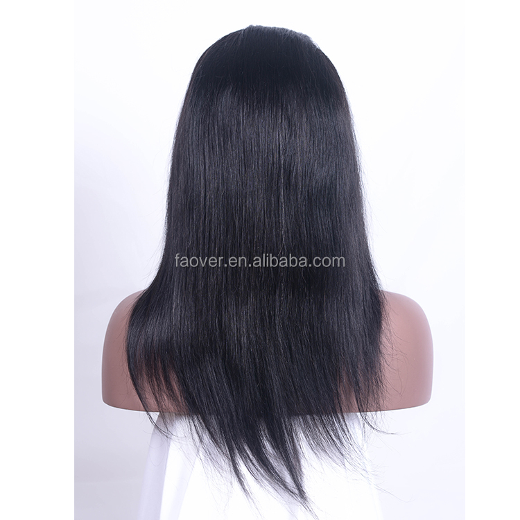 Peruvian hair virgin unprocessed hair no tangle no shedding mink full lace wig