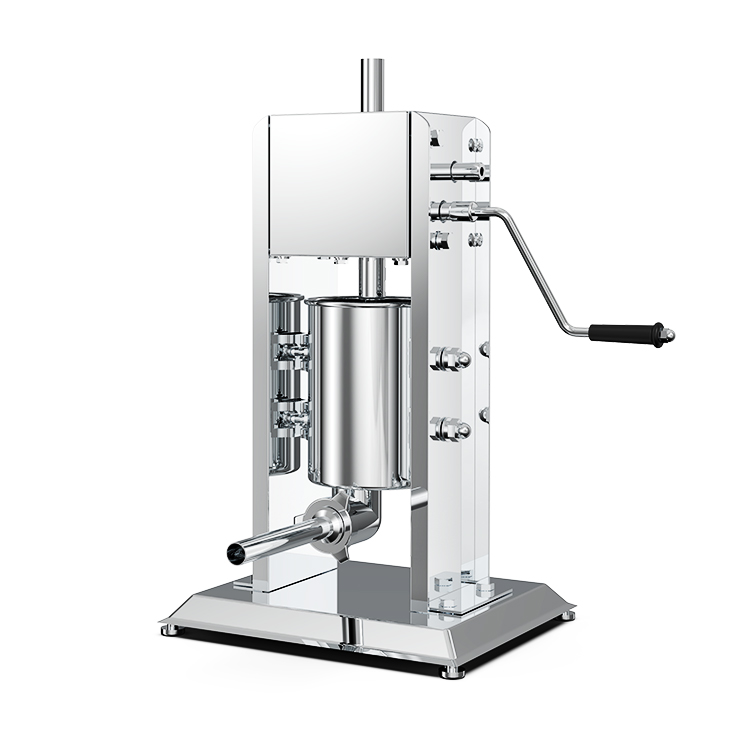 Stainless steel vacuum sausage filling machine manual /manual 3L sausage filler/sausage making machine