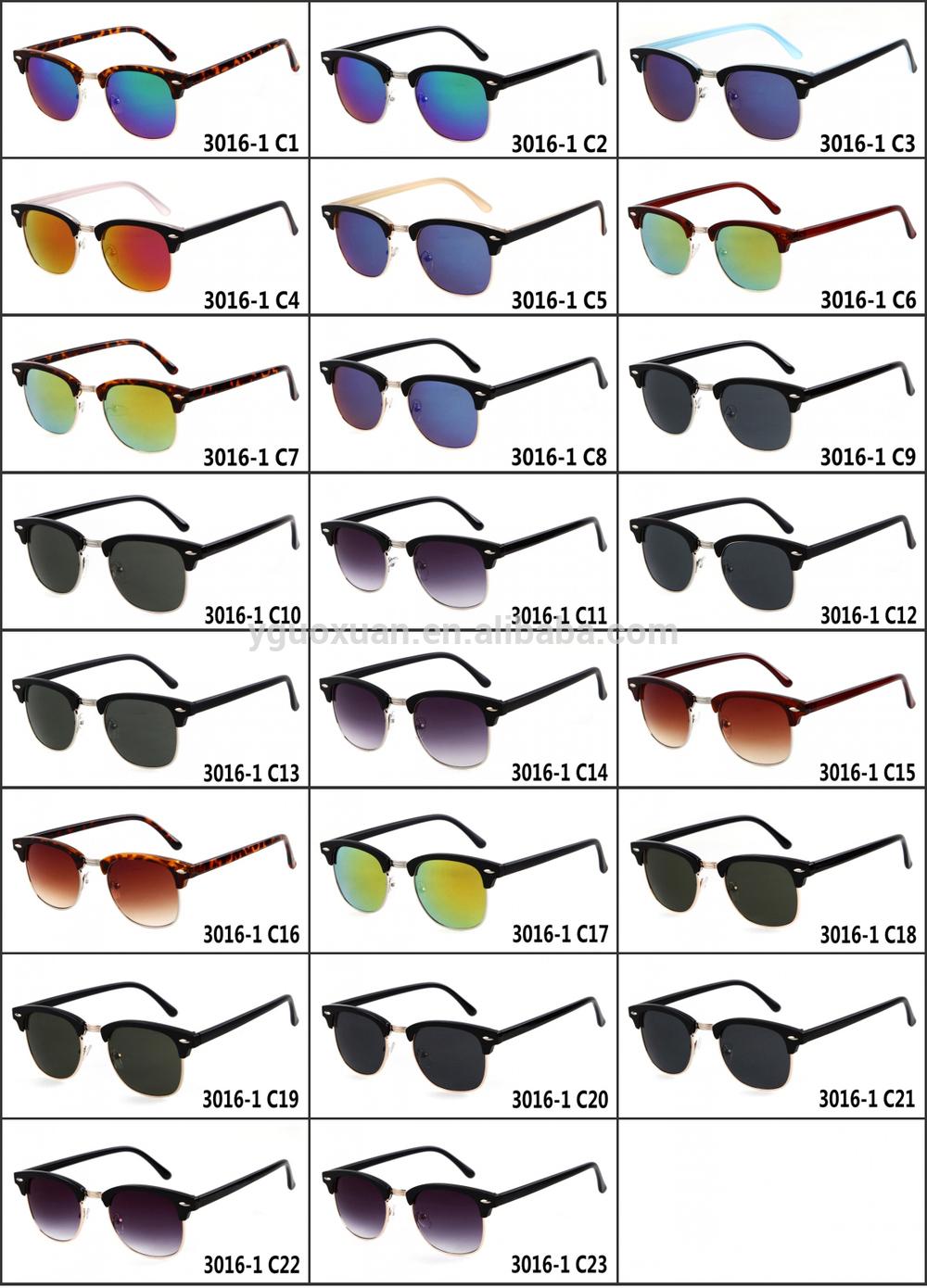 23 Diseñador Moda Clubmaster 2014 Gafas De Nuevo Modelo Colores Y6fyvb7gI